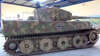 Panzer VI Tiger I, The Tank Museum, Saumur, Maine-et-Loire, France, Europe