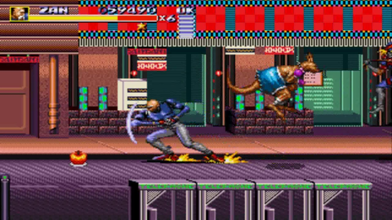 Streets of Rage 3 - Zan on a funny fight with Jets - YouTube  |Streets Of Rage 3 Zan