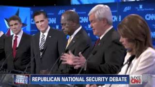 Ron Paul Vs. Newt Gingrich on