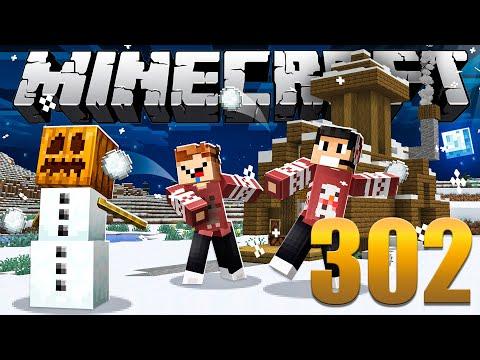 Farm de Neve - Minecraft Em busca da casa automática #302