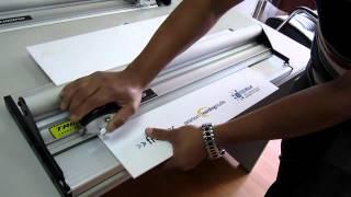 Trimalco Kronos cutting Forexboard 3mm