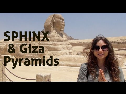 Giza Pyramids and Sphinx I Cairo, Egypt Tourism
