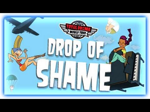 TOTAL DRAMA WORLD TOUR GAMES | DROP OF SHAME | CARTOON NETWORK