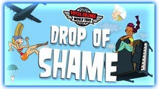 TOTAL DRAMA WORLD TOUR GAMES   DROP OF SHAME   CARTOON NETWORK