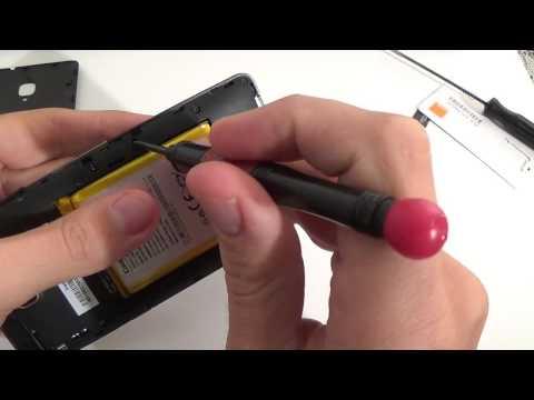 Orange Fova - Dezasamblare telefon / Phone disassembly