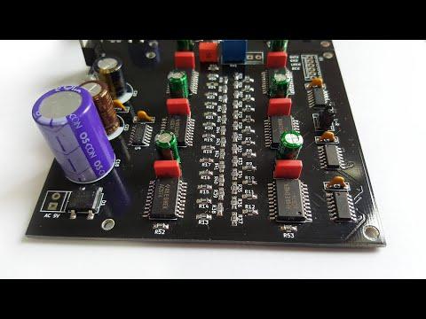 DIY Discrete R2R DAC