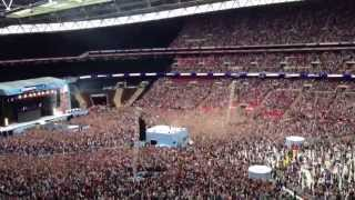Psy performing gangnam style at summertime ball london wembley stadium 2013