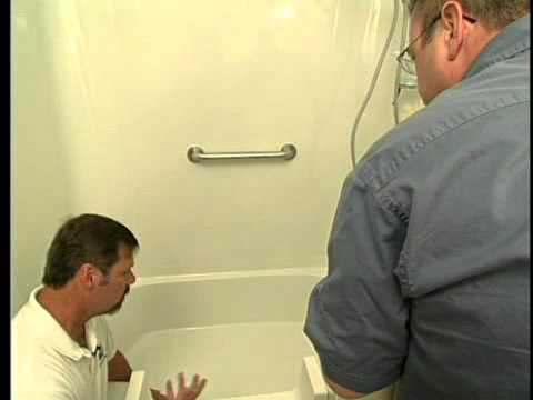 Bathroom Grab Bars Location bathroom safety; installing grab bars & the easy step - youtube