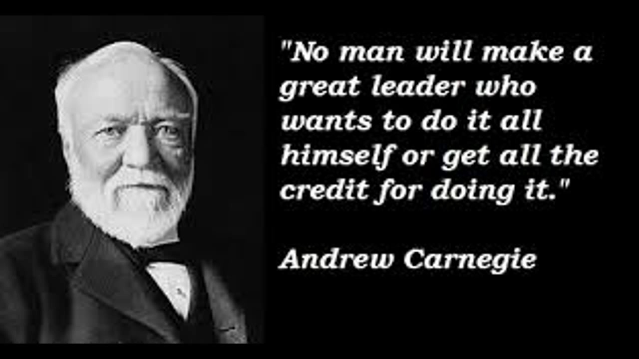 He Is Richer Than Bill Gate, ANDREW CARNEGIE Quotes