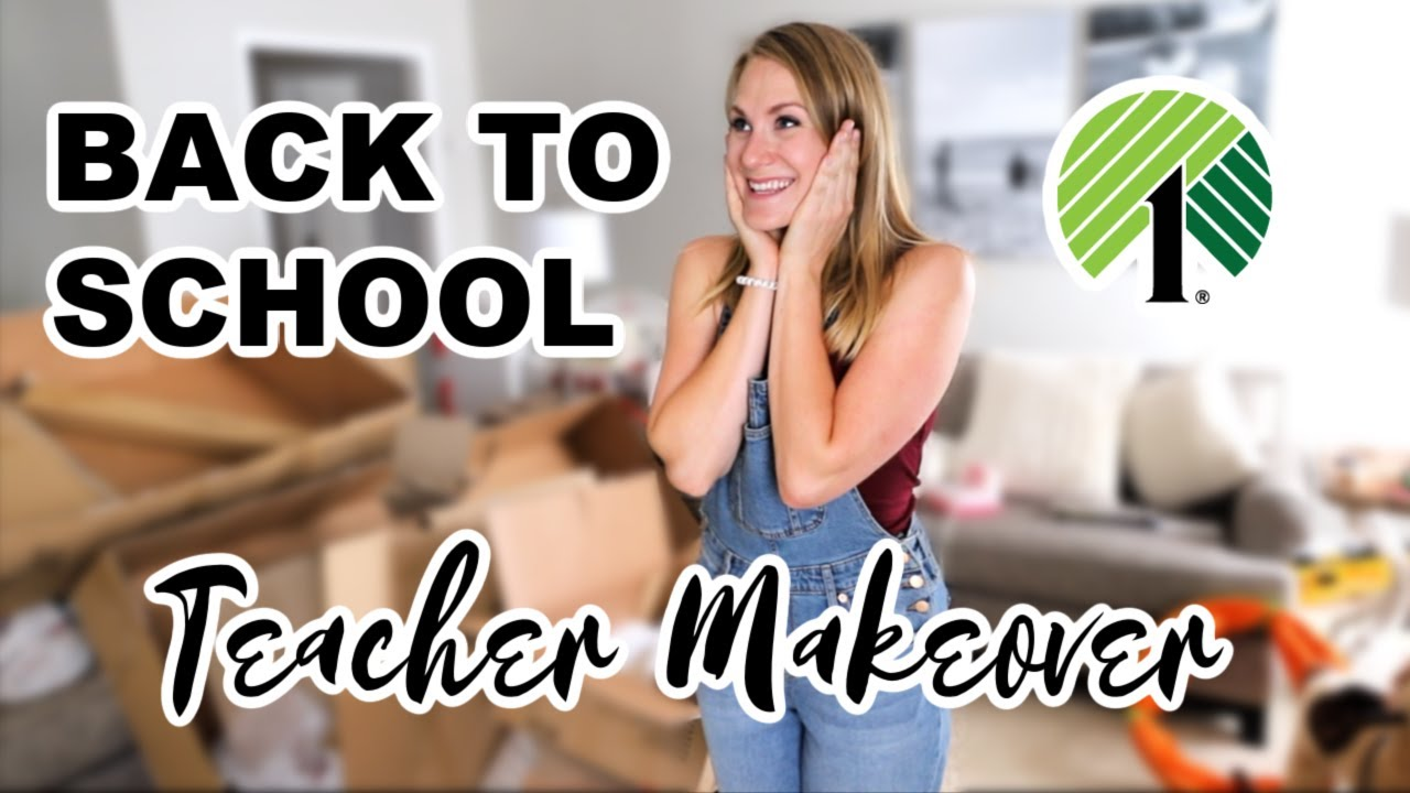 $1 DOLLAR STORE BACK TO SCHOOL DEALS 2020 🍎 At-home classroom makeover (by a teacher!)