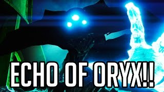 ECHO OF ORYX BOSS!! Destiny The Taken King Walkthrough Part 5 - Mission 6 (PS4/XB1 1080p 60fps)