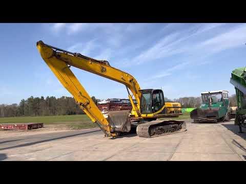 Used heavy machinery JCB JS260LC Long Reach  Kettenbagger
