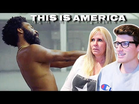 "MOM REACTS TO CHILDISH GAMBINO - ""THIS IS AMERICA"" OFFICIAL MUSIC VIDEO!!! **EMOTIONAL**"
