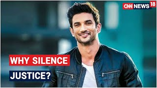 Sushant Death Probe: Why Retort With Threats & Taunts & Silence The Call For Justice?   CNN News18