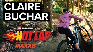 Claire Buchar Takes On The Hot Lap Challenge | Pinkbike Hot Laps