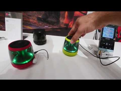 LG PH1, PH2, PH3 und PH4 Bluetooth Lautsprecher erster Eindruck
