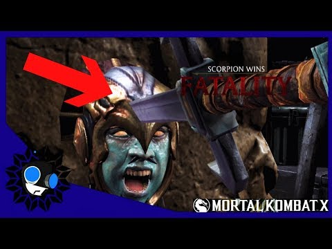 Bloody Scorpion fatality ( mortal kombat X fights )