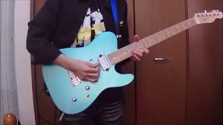 【Roselia】Sanctuary (Full size.) 作った日菜ギターで弾いてみた