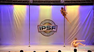 Amalia Lang   Kayla Lee Burch - IPSF World Pole Championships 2018