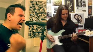 Speed of light (Stratovarius cover by Iliour Griften feat  Zoltan Arpad Liptay)