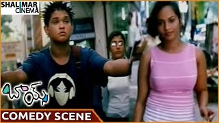 Boys Movie    Nakul Superb Comedy With Girl    Siddharth, Bharath, Genelia D'Souza    Shalimarcinema