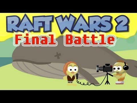 Raft Wars 2 [Final Battle] Big Explosion - [Raft Wars 2 - Level 13]