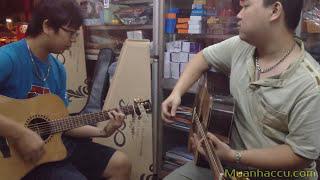 Trở Về - Trần Lập - Bức Tường - Song tấu Acoustic Guitar