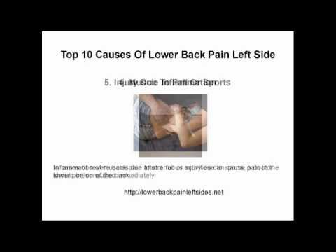hqdefault - Side Back Pain Cause