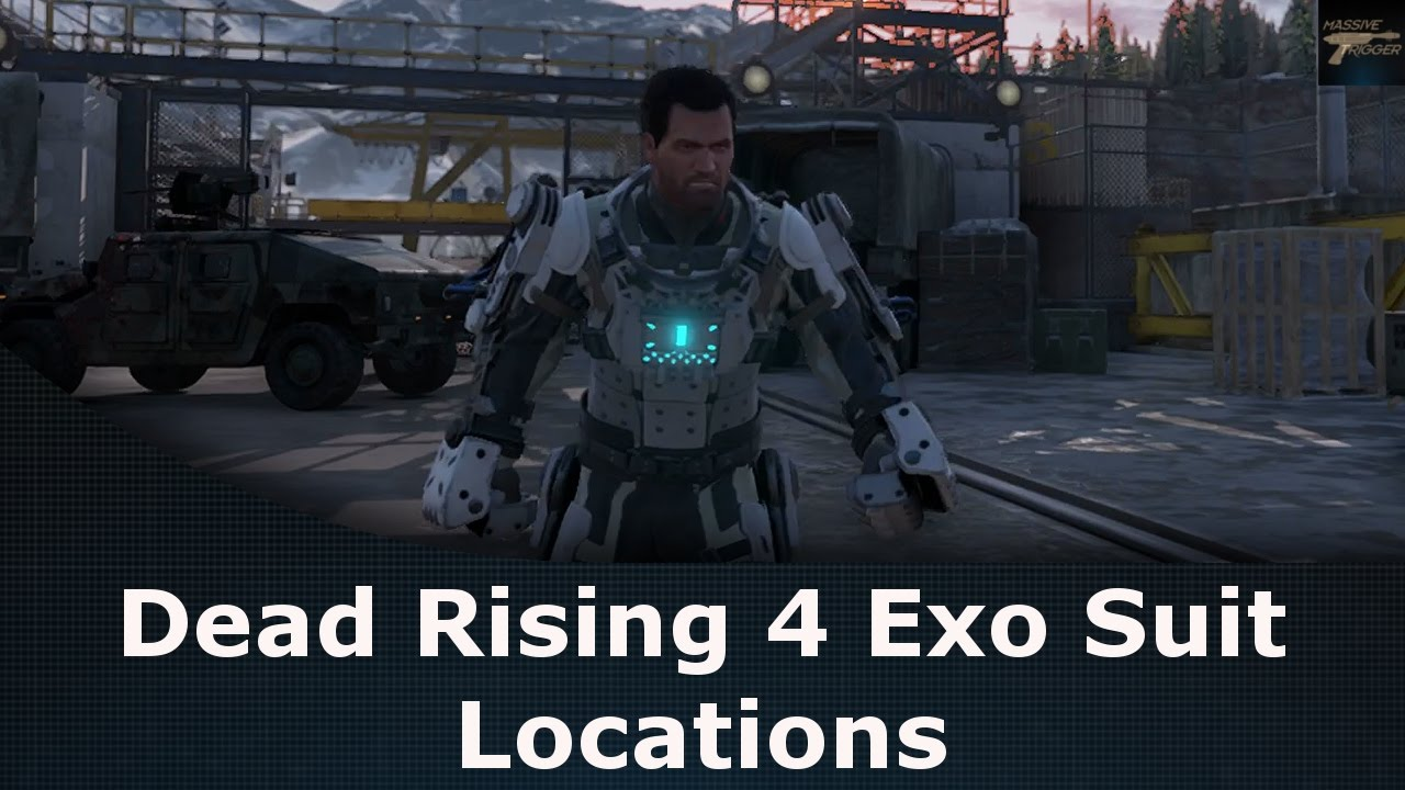 Dead Rising 4 Where to Find Exo Suits / Map Locations of Exo Suits on