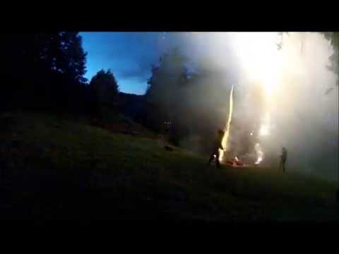 Crow Nest Park Golf Club Ruby Wedding Fireworks