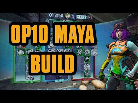 OP10 Maya The Siren Build | Borderlands 2