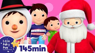 Christmas Songs Compilation! | Huge! | Over 2 Hours of Nursery Rhymes by Little Baby Bum!