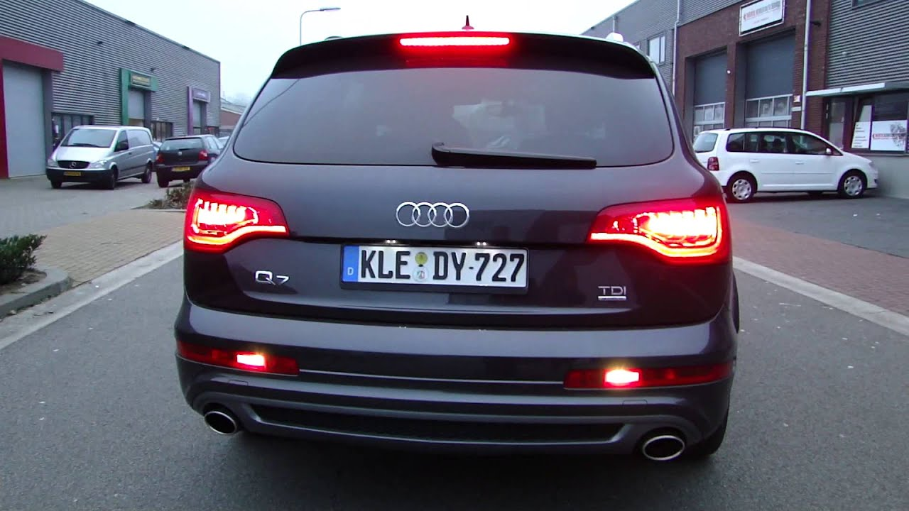 audi q7 4 2 tdi exhaust sound system sportuitlaat uitlaat by maxiperformance nl youtube. Black Bedroom Furniture Sets. Home Design Ideas