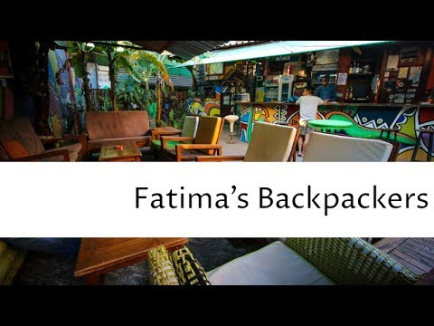 Fatima's Backpackers - Maputo, Moçambique (Quick Video)