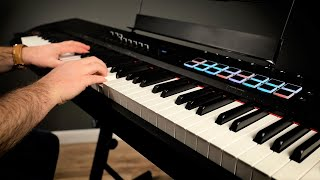 M-Audio Hammer 88 Pro - Graded Hammer Action Keybed Demo and Review (Mini Grand and BOOM Drums)