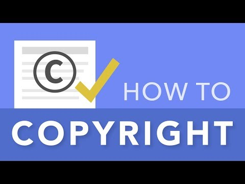How To Copyright Your Content