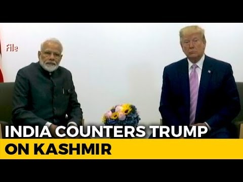 """""""No Such Request By PM"""": India Rejects Trump's Kashmir Mediation Claim"""