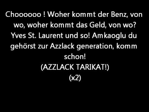 Haftbefehl  - Generation Azzlack - Lyrics