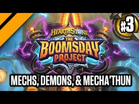 Hearthstone: Boomsday Project Launch - Mech Paladin, Demon Zoo, Mecha'Thun Warlock P3