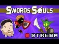 Let's Play Swords and Souls - PART 1: Grinding With Style | Graeme Games