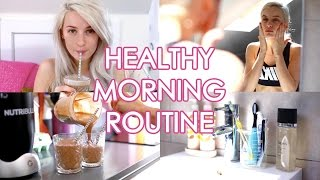 My Healthy/Workout Morning Routine | Inthefrow