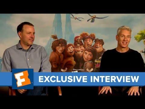 The Croods, Kirk DeMicco & Chris Sanders -- Junket Interview   Celebrity Interviews   FandangoMovies