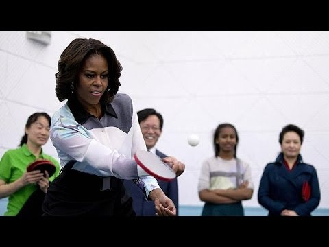China: Michelle Obama in Beijing - no comment