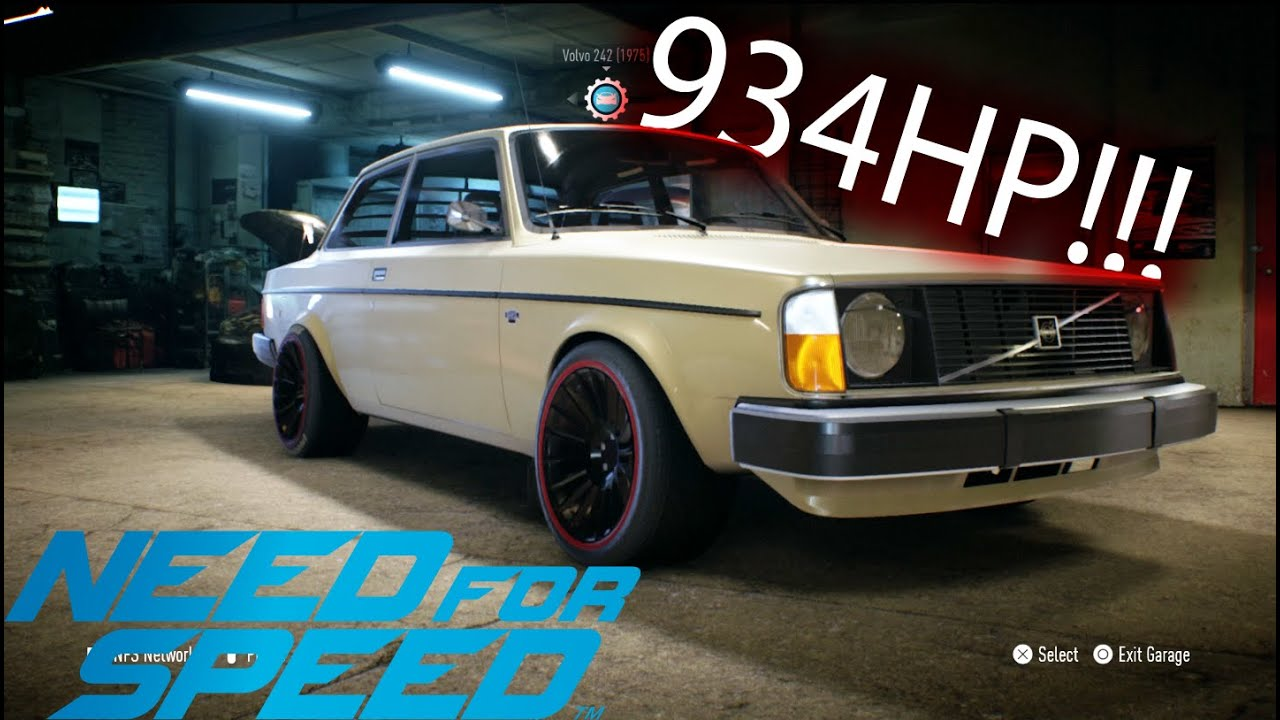 "Need for Speed | Volvo 242 ""934HP""!!! Gameplay 
