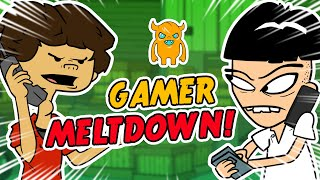 UK Gamer MELTDOWN After Console is Lost (animated)