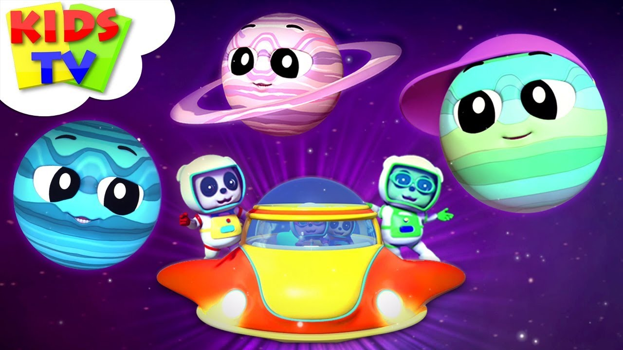 Lets Meet The Planets | Planets Song | Baby Bao Panda | Kids Rhymes & Cartoon Videos - Kids TV
