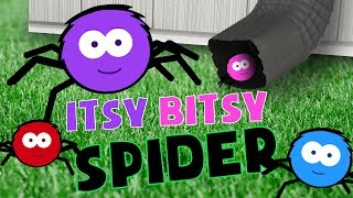 ITSY BITSY SPIDER SONG | Nursery Rhymes for kids | PRESCHOOL SONGS