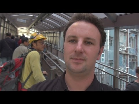 Hong Kong - World's Longest Escalator