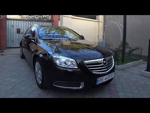 Opel Insignia бизнес-класс занедорого?  Отзыв владельца