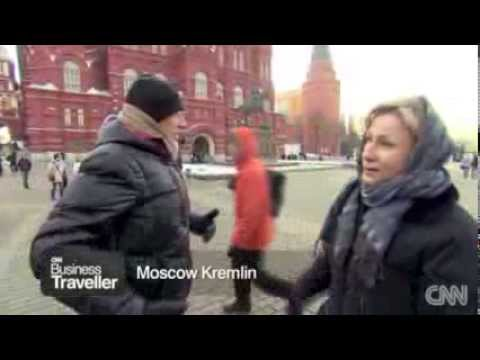 Moscow Private Tours on CNN with Richard Quest